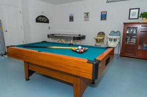 High Grove Villa Games Room