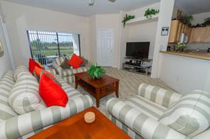 High Grove Villa Family Room